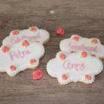 Minirosen zum Geburtstag - Kekse