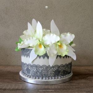 "Torte ""Grüne Orchidee"""