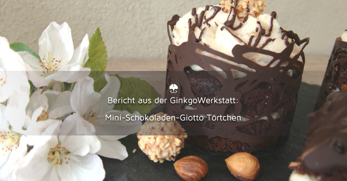 Grüne Orchideen und Schokolade