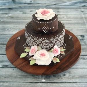"Galerie - Torten: ""Chocolate Rose"""