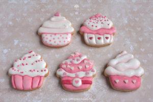 Pralinen & Kleingebäck: Cupcake Kekse