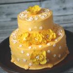 "Torte ""Gelbe Blüten"""