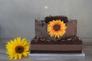"""Galerie - Torten: """"Sonnenblume"""""""