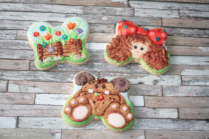 Royal Icing Kekse - Practice Bakes Perfect Challenge