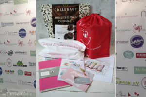 Tortenworkshop 2018 - Bloggerworkshop Goodiebag