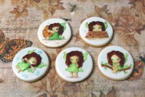 """Royal Icing Kekse """"GinkgoFee"""""""