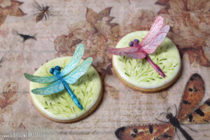 "Royal Icing Kekse ""Libellen"""