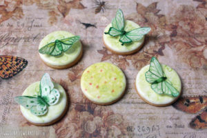 "Royal Icing Kekse ""Grüne Insekten"""