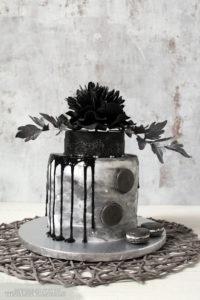 """Galerie - Torten: """"Black Peony"""""""