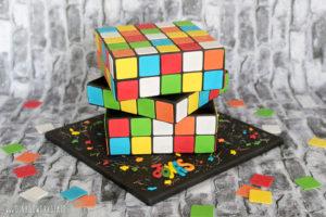 "Galerie - Torten: ""Rubik- / Zauberwürfel"""