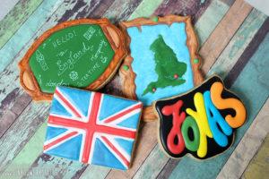 """Royal Icing Kekse """"England"""""""