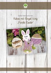 Anleitung: Purple Easter Kekse