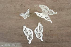 Royal Icing Schmetterlinge